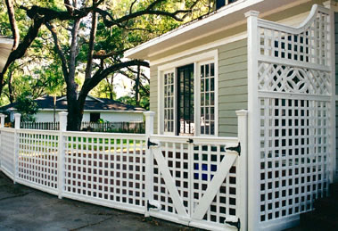 Orlando Trellises, Fences, Gates
